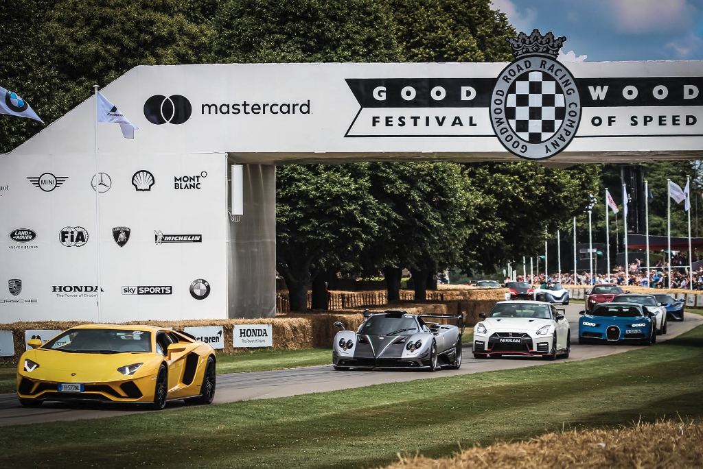 Goodwood Festival of Speed Rally